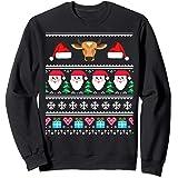 Amazoncom Cow Ugly Christmas Sweater T Shirt Clothing