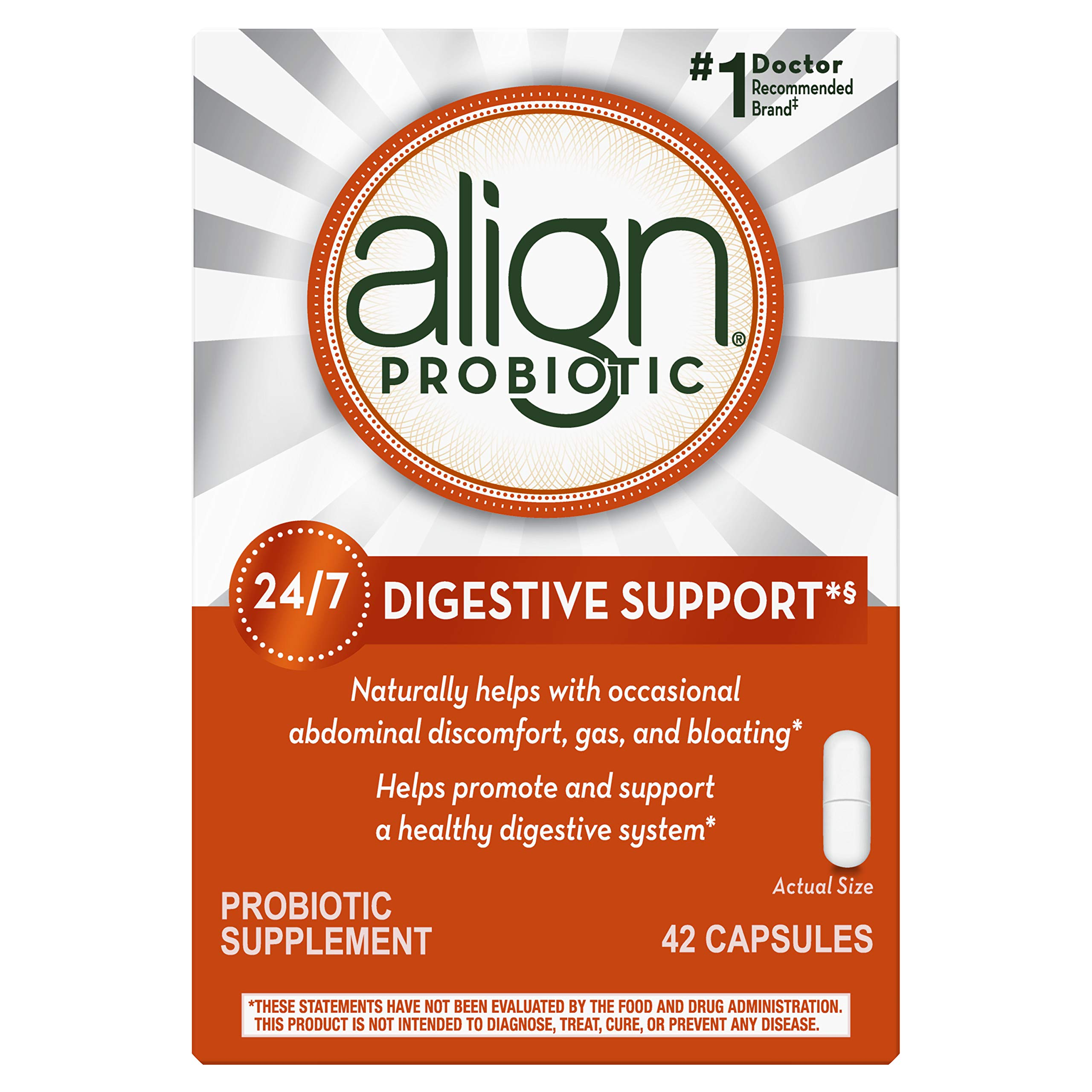 Align Probiotic Supplement (Packaging May Vary) by Align