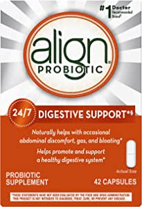 Align Daily Probiotic Supplement, Probiotics Supplement, 42 Capsules (Packaging May Vary)