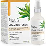 InstaNatural Vitamin C Facial Toner - Anti Aging Face Spray with Witch Hazel - Pore Minimizer & Calming Skin Treatment…