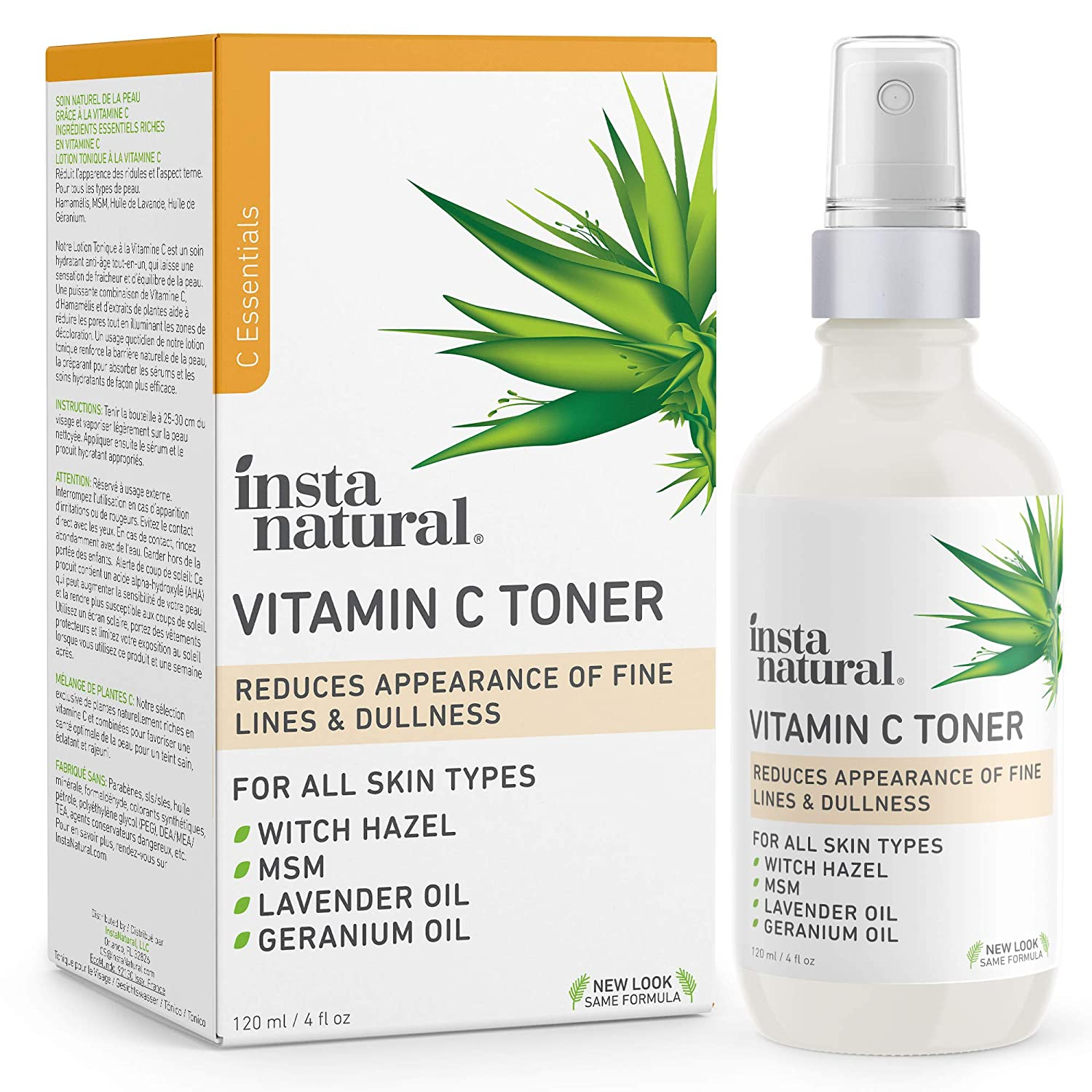 Amazon Com Instanatural Vitamin C Facial Toner Anti Aging Face
