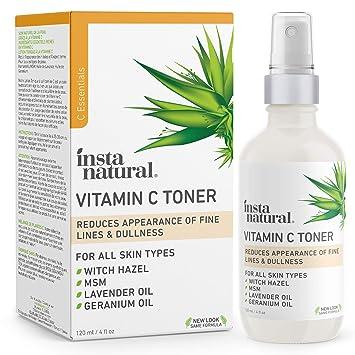 Amazon Com Instanatural Vitamin C Facial Toner Anti Aging Face