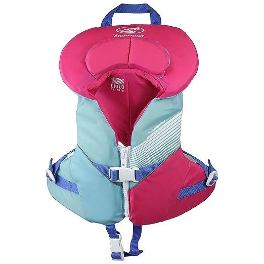 169793b737b Amazon.com   Stohlquist Child Lifejacket (PFD)-Aqua Pink-Child ...