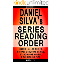 Daniel Silva Series Reading Order: Series List - In Order: Gabriel Allon series, Michael Osbourne series (Listastik…