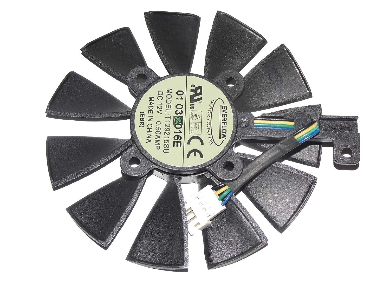 Everflow t129215su 12 V 0,5 A 4 Draht: Amazon.de: Elektronik