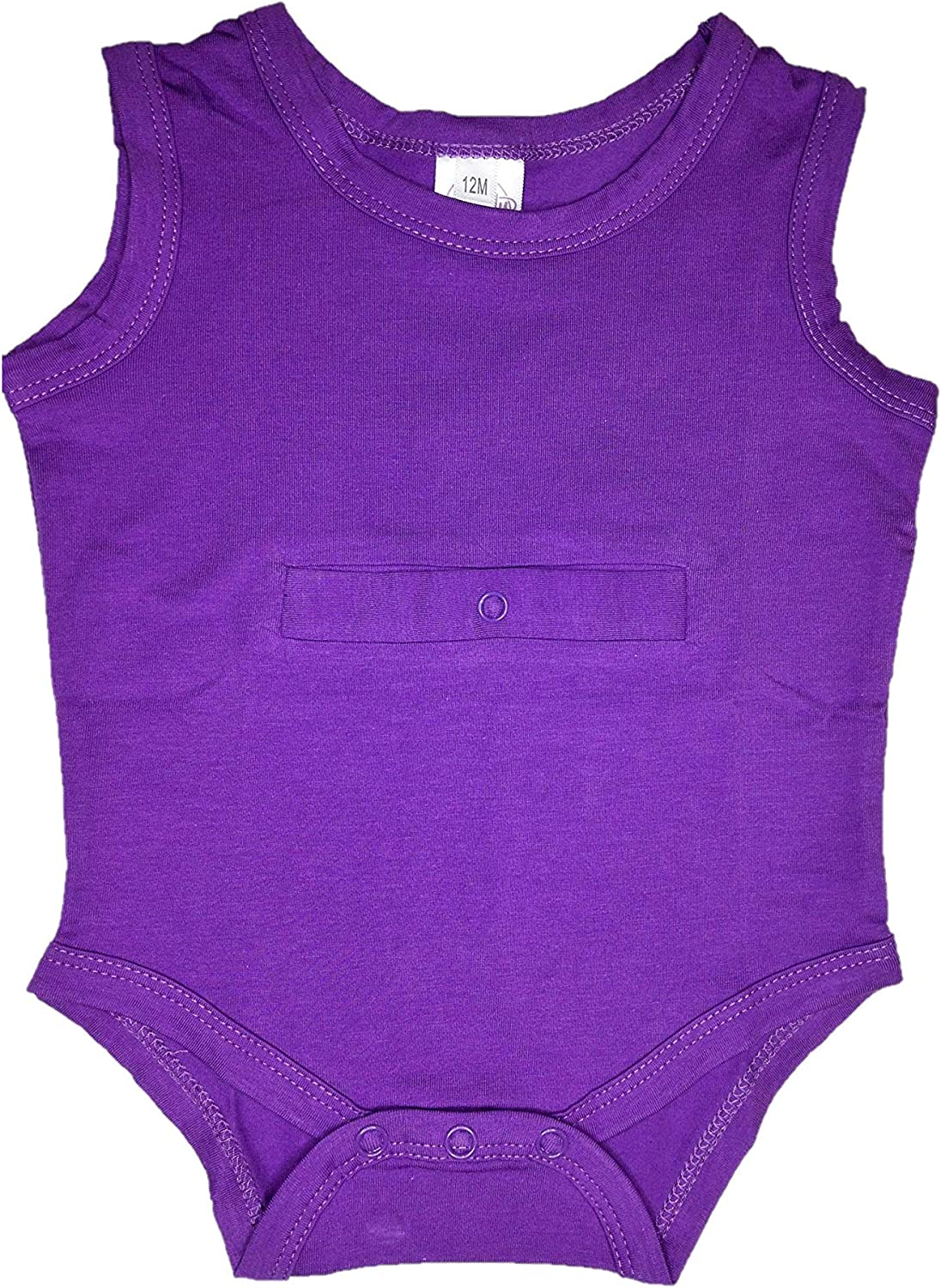 Handy Customized Products Bodysuit for Feeding Tube and G-Tube Special Needs Onsie