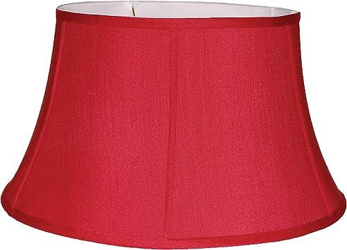 19 red silk floor lamp shade