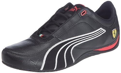 54ae6bf3e391 Puma Men s Drift Cat 4 SF Carbon Low-Top Sneakers Black Size  10 UK ...