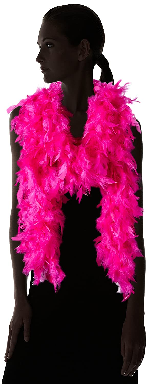 Taille Unique Smiffys 38308 D/éguisement Femme Boa Deluxe /à Plumes Fuchsia