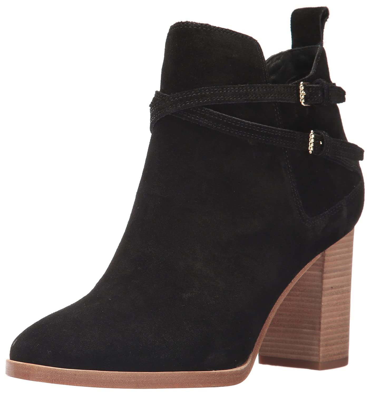 Cole Haan Women's Linnie Bootie Ankle Boot B01MRBKX3M 6.5 B(M) US|Black Suede