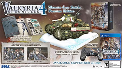 Amazon com: Valkyria Chronicles 4: Memoirs From Battle