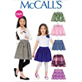 Simplicity Sewing Pattern 2356 Childs Skirts Slips and Accessories A 3-4-5-6-7-8