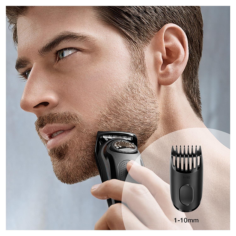 5e477b4c3e0 Braun Beard Trimmer BT3020 Black - Cordless Hair   Beard Trimmer for ...