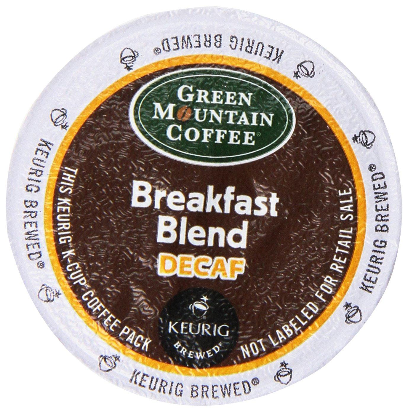 Green Mountain Coffee Decaf Breakfast Blend (Light Roast Coffee) K-Cup Porti.. 14