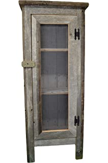 Stupendous Amazon Com Old Barn Wood Cabinet This Simple Yet Home Interior And Landscaping Mentranervesignezvosmurscom