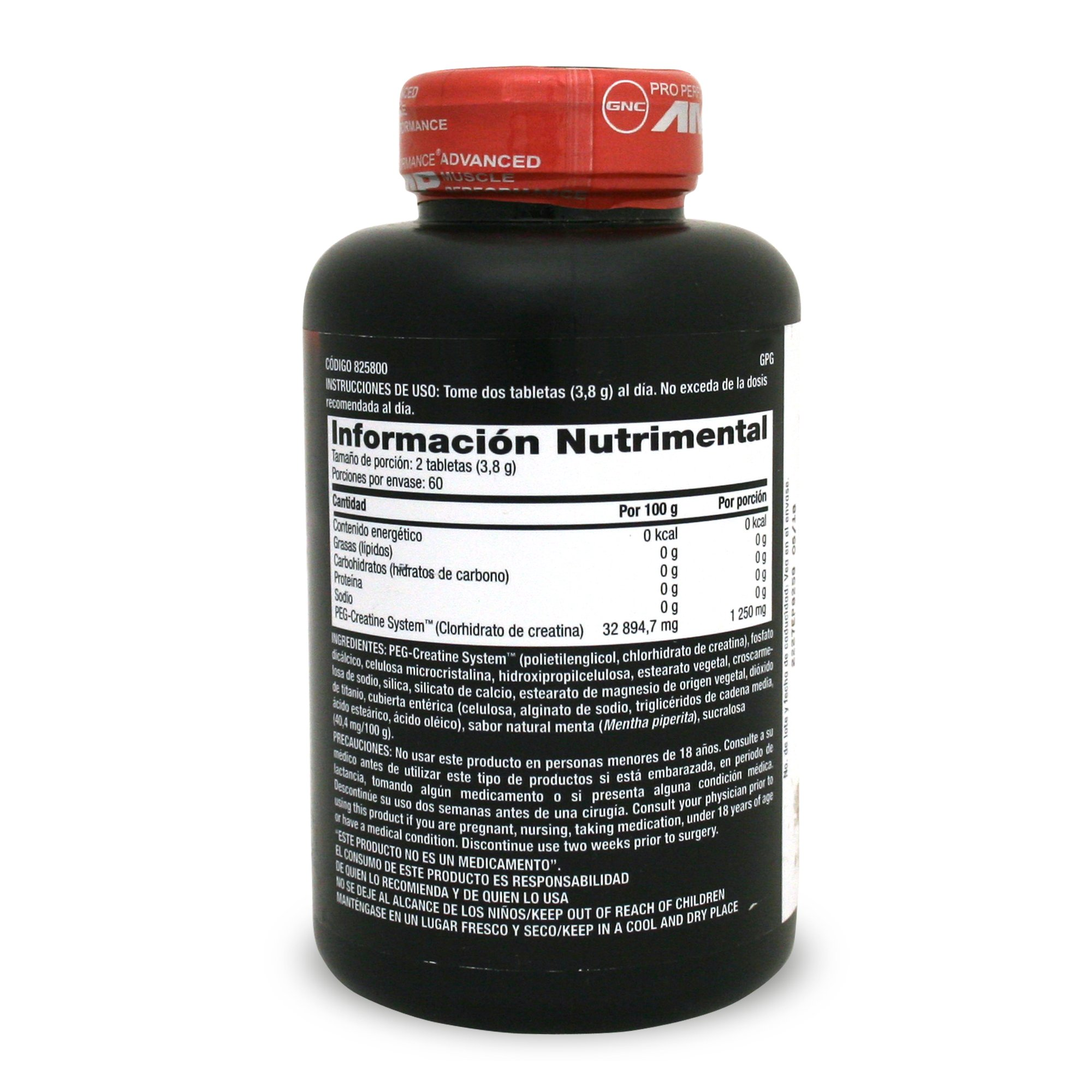 GNC AMP Amplified creatine 189 120 tablets by GNC (Image #4)