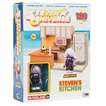EXCLUSIVE McFarlane Toys Steven Universe   STEVENu0027S KITCHEN Construction  Set   120 Pieces (