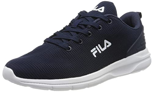 Fila Men Sport&Style Fury Run III Low, Zapatillas Altas para Hombre, Azul (Dress