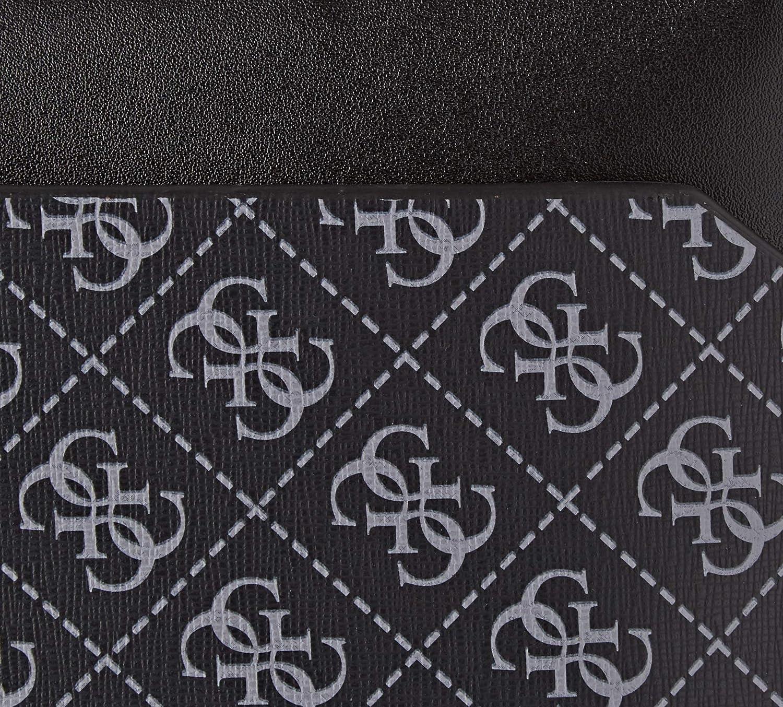 Black Organiseurs de sacs /à main homme Guess Manhattan Logo 0.5x23x36 cm W x H L Noir