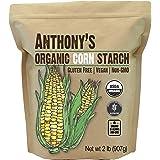 Anthony's Organic Corn Starch, 2 lb, Gluten Free, Vegan & Non GMO
