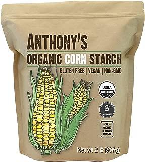 product image for Anthony's Organic Cornstarch, 2 lb, Gluten Free, Vegan & Non GMO