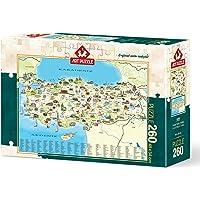 Art Puzzle Türkiye Kültür Haritası 260 Parça