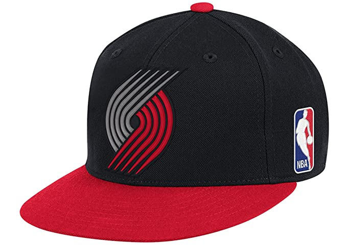 buy popular f9d70 f24b0 Image Unavailable. Image not available for. Color  Mitchell   Ness Portland  Trail Blazers 2 Tone STA3 XL Logo Snapback Hat NBA