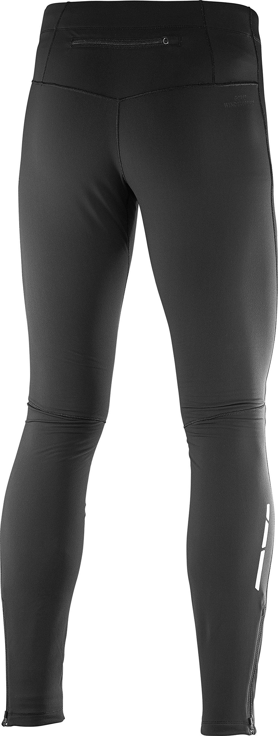 Salomon Men's Trail Runner WS Tight, Black, Large by Salomon (Image #2)