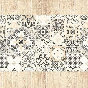/Fantasie Teppich L/äufer Muster MADE IN ITALY rutschfest waschbar Passform Borbonese/