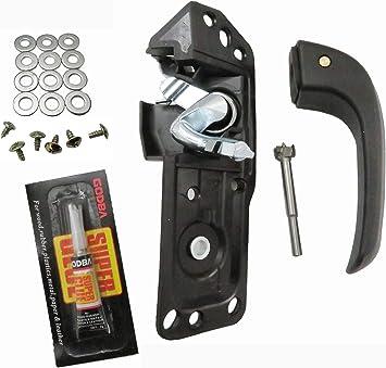 Amazon Com Door Handle Repair Kit Interior Inside Lh For 07 13 Chevy Silverado 20833606 20871488 80374 Automotive