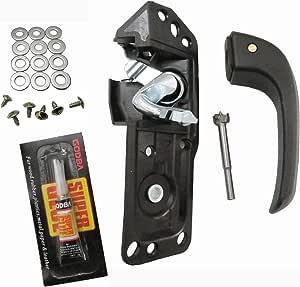 Door Handle Repair Kit Interior Inside LH Driver for 07-13 Sierra Silverado Left
