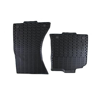 Genuine Audi Accessories 8R1061221041 Black Rubber Front Floor Mat with Logo for Audi Q5: Automotive