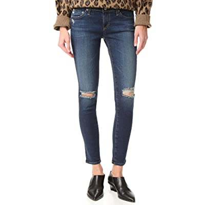 AG Adriano Goldschmied Women's Legging Ankle Jean in 7 Year Break Me Down: AG: Clothing