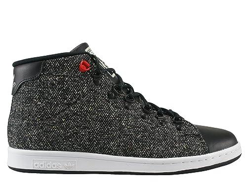 adidas Stan Smith Winter Scarpa core black: Amazon.it