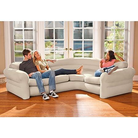 Sofa rinconera hinchable Intex