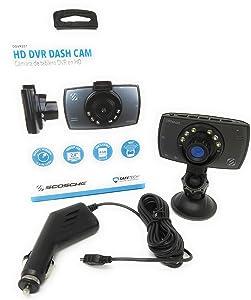 Scosche DDVR2ST Dashboard Camera (DDVR2ST-1080p HD DVR)