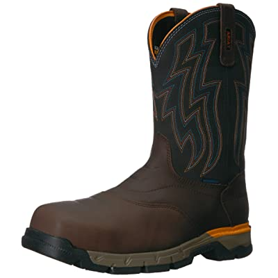 ARIAT Men's Rebar Wester H2o Composite Toe Work Boot | Industrial & Construction Boots