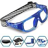 Ponosoon Sports Goggles Glasses for Basketball Football Volleyball Hockey 1824