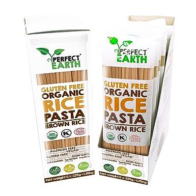 Pasta De Arroz Orgánica | Fideos | Sin gluten | Apto vegano ...