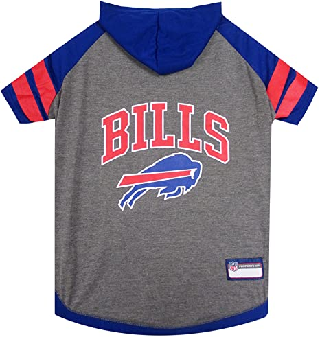 NFL sudadera con capucha camiseta para perros y gatos. | fútbol perro sudadera con capucha (manga ...