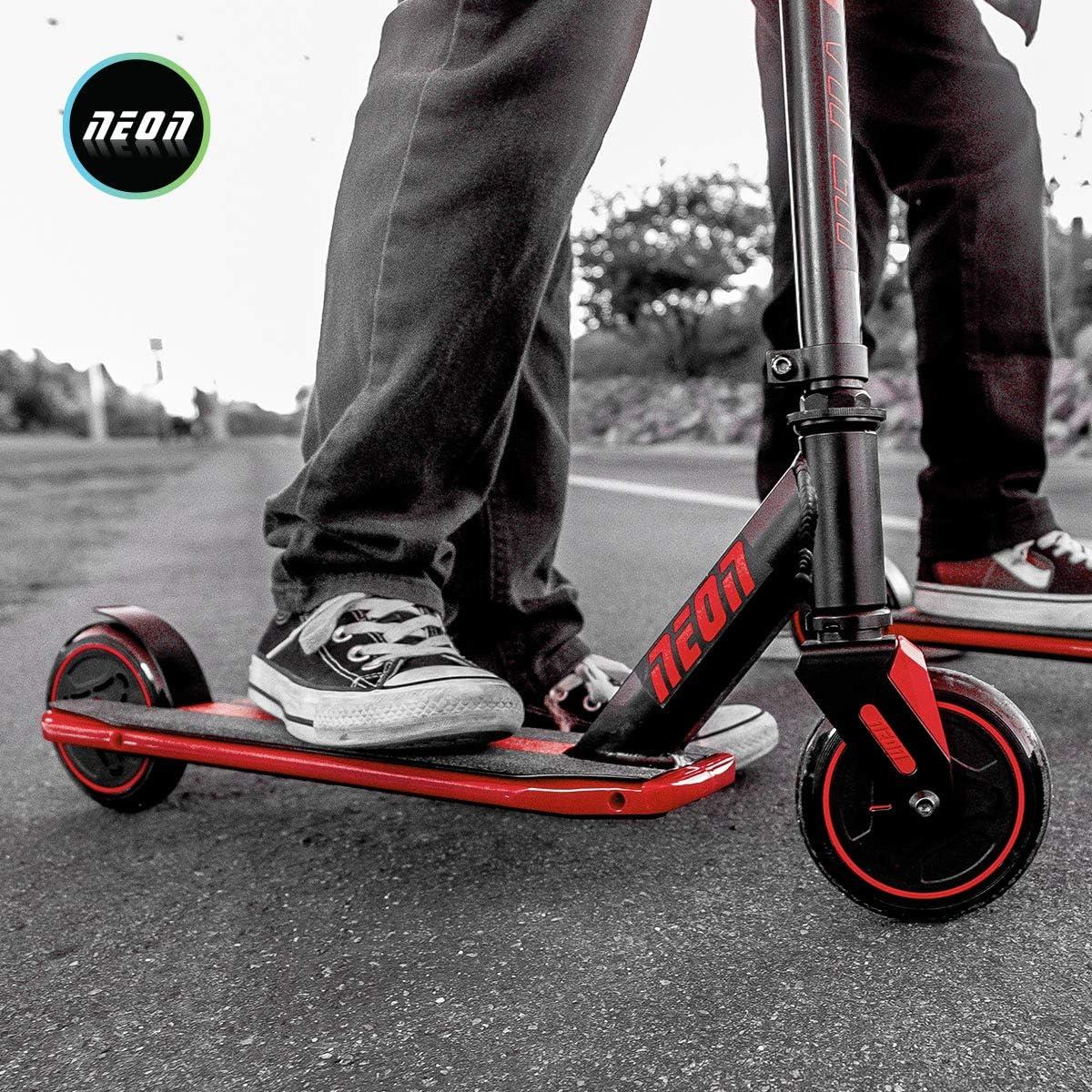 Kids Light up deck kick scooter Neon Viper