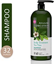 Avalon Organics Scalp Treatment Tea Tree Shampoo, 32 oz.