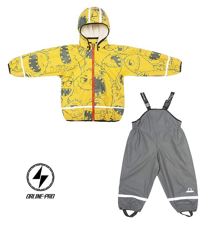Kids Raincoat Jacket with Pants