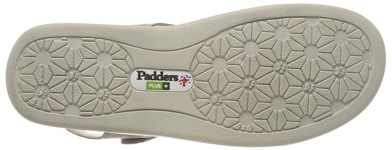 Padders Plus Damen Cruise Sandalen Mehrfarben  Mehrfarben Sandalen (Metallic Reptile) e7c503