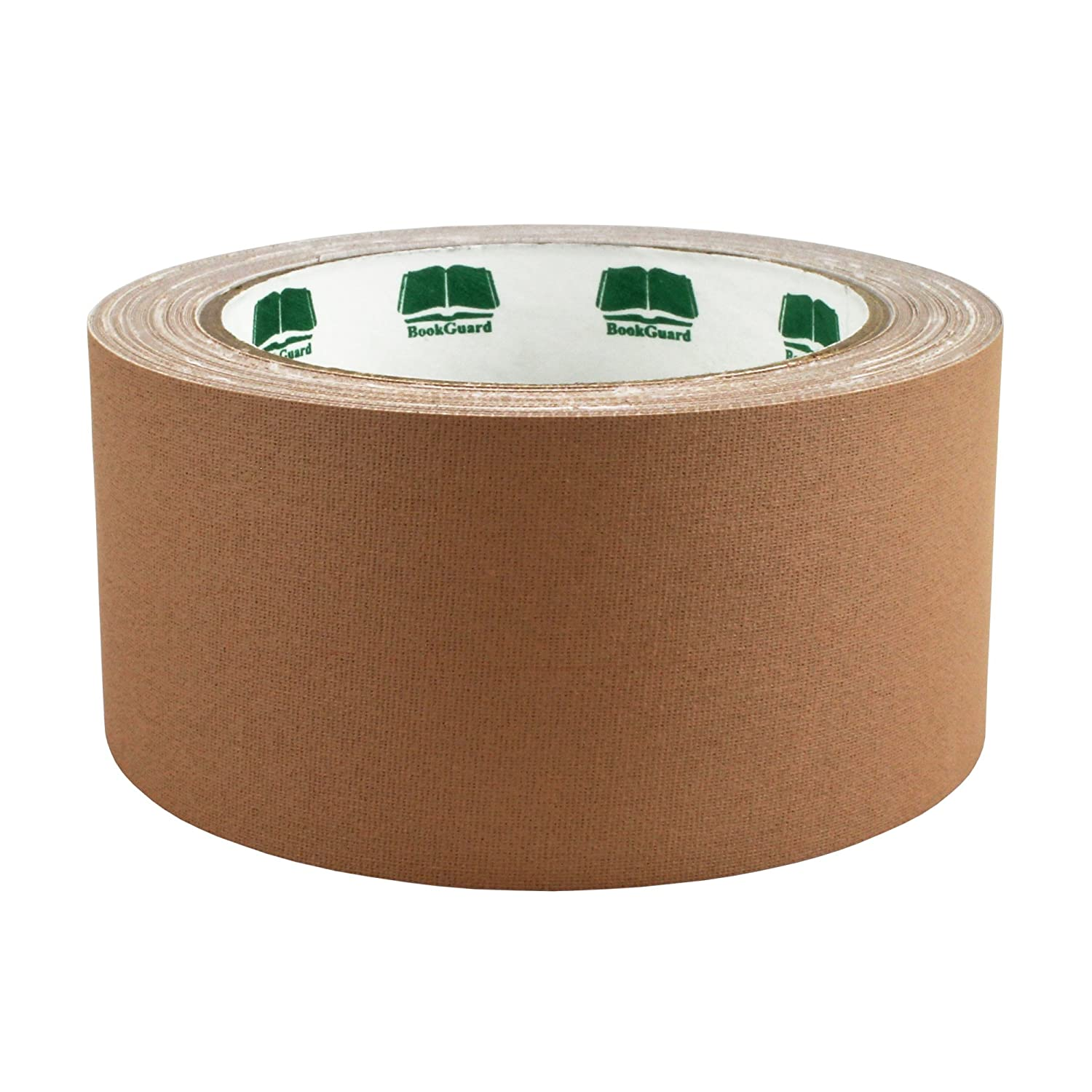 2 Forest Green Colored Premium-Cloth Book Binding Repair Tape | 15 Yard Roll (BookGuard Brand) ChromaLabel ACAL01354