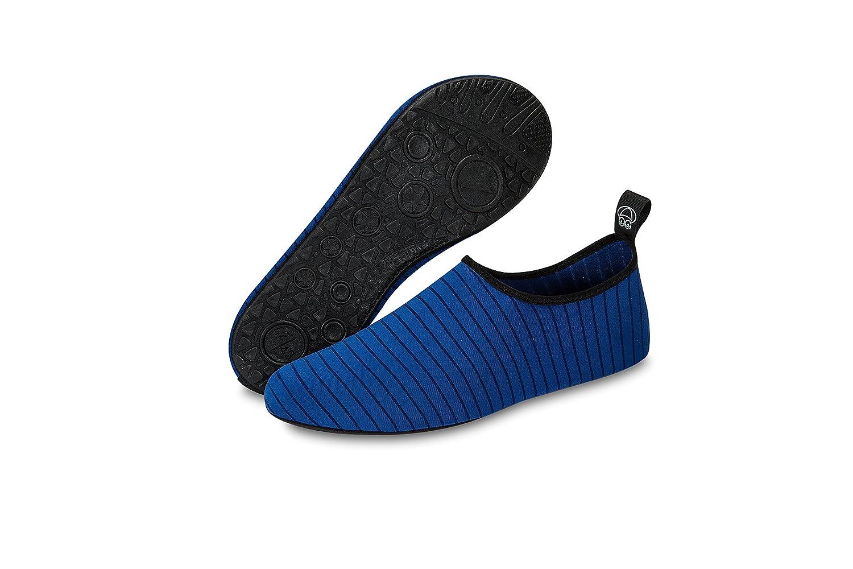 KORAMAN Unisexe Extensible Doux Chaussures de leau /à s/échage Rapide Barefoot antid/érapant Aqua Chaussettes pour Bain Rocky Beach Int/érieur Yoga Gym dexercice