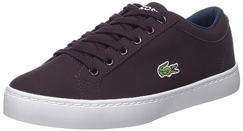 Lacoste Straightset Lace 417 1 CAJ, Zapatillas Unisex Niños: Amazon.es: Zapatos y complementos