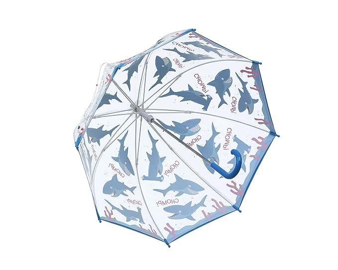 Amazon.com: Bugzz - Paraguas de tiburón para niños, diseño ...