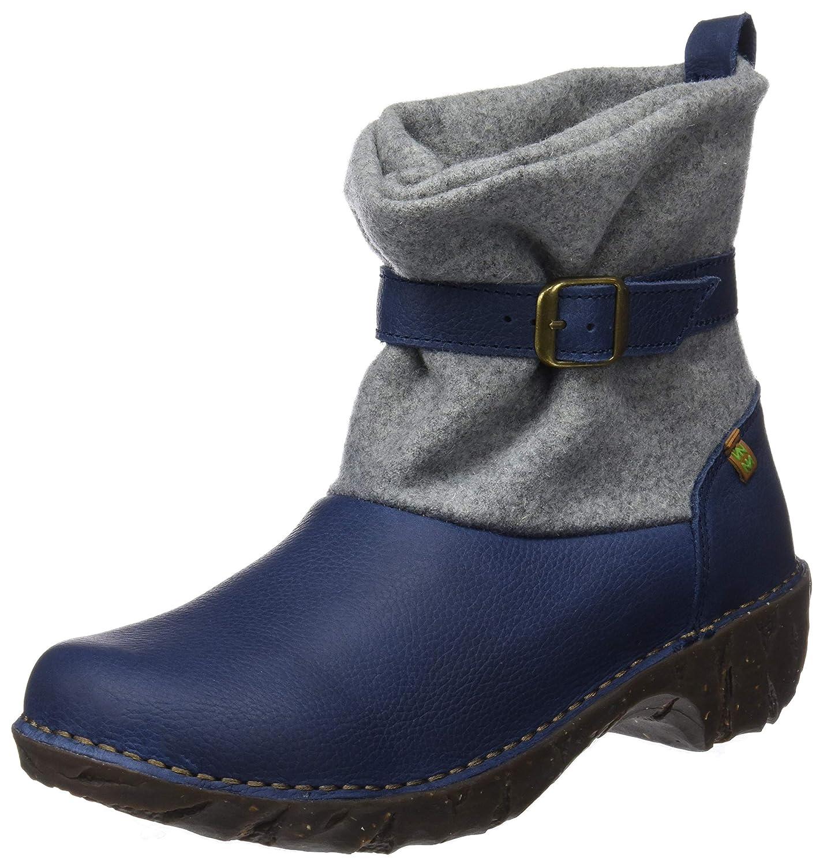 El Naturalista Damen Ng56 Soft Grain-Premium Wool Ocean Yggdrasil Kurzschaft Stiefel