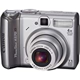 Canon PowerShot A570IS 7.1MP Digital Camera with 4x Optical Image Stabilized Zoom (OLD MODEL)